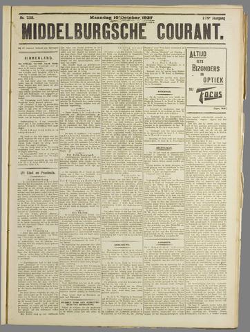 Middelburgsche Courant 1927-10-10