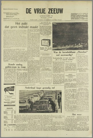 de Vrije Zeeuw 1963-04-13