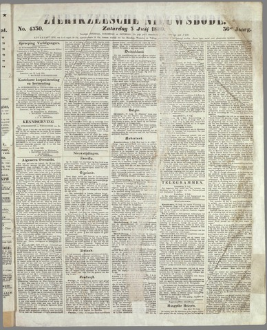 Zierikzeesche Nieuwsbode 1880-07-03