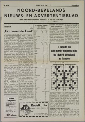 Noord-Bevelands Nieuws- en advertentieblad 1981-05-29