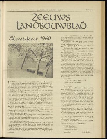 Zeeuwsch landbouwblad ... ZLM land- en tuinbouwblad 1960-12-24
