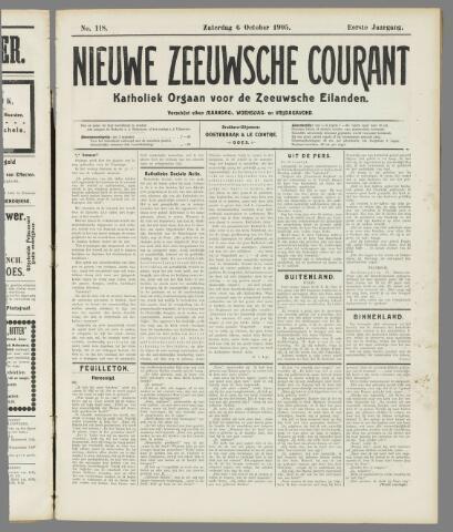 Nieuwe Zeeuwsche Courant 1905-10-06