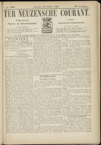 Ter Neuzensche Courant. Algemeen Nieuws- en Advertentieblad voor Zeeuwsch-Vlaanderen / Neuzensche Courant ... (idem) / (Algemeen) nieuws en advertentieblad voor Zeeuwsch-Vlaanderen 1880-10-16