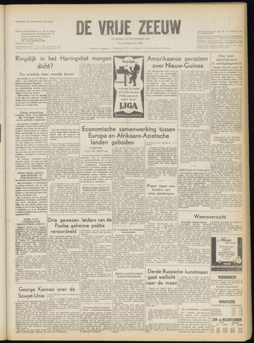 de Vrije Zeeuw 1957-11-12