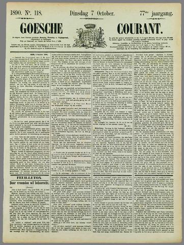 Goessche Courant 1890-10-07
