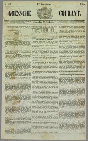 Goessche Courant 1861-09-09