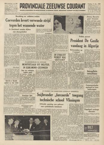 Provinciale Zeeuwse Courant 1960-12-09