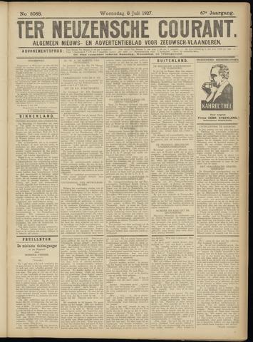Ter Neuzensche Courant. Algemeen Nieuws- en Advertentieblad voor Zeeuwsch-Vlaanderen / Neuzensche Courant ... (idem) / (Algemeen) nieuws en advertentieblad voor Zeeuwsch-Vlaanderen 1927-07-06