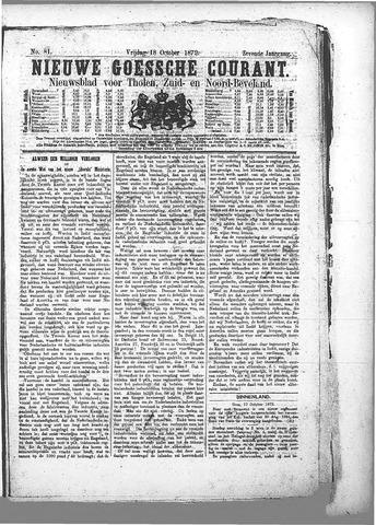 Nieuwe Goessche Courant 1872-10-18