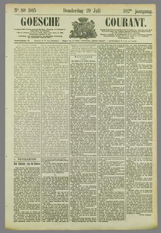 Goessche Courant 1915-07-29