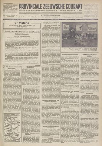 Provinciale Zeeuwse Courant 1941-08-20