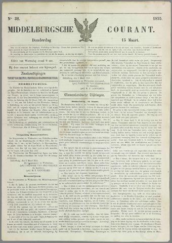 Middelburgsche Courant 1855-03-15