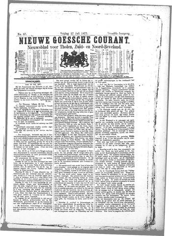 Nieuwe Goessche Courant 1877-07-27