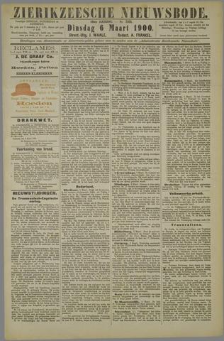 Zierikzeesche Nieuwsbode 1900-03-06