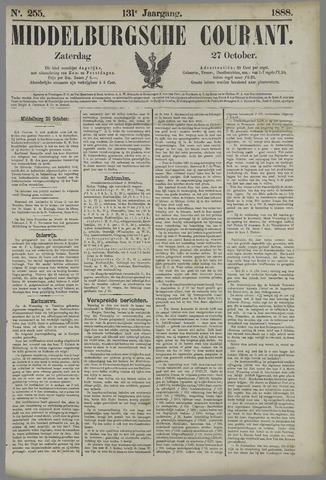 Middelburgsche Courant 1888-10-27
