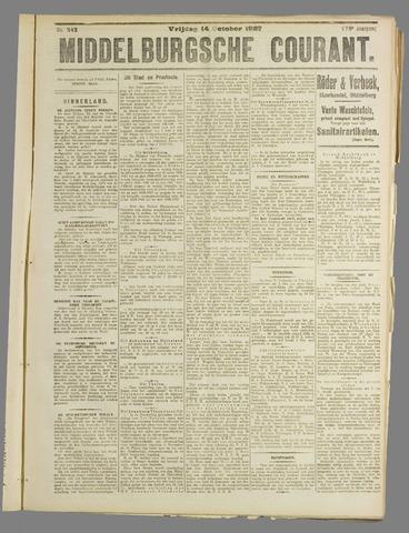 Middelburgsche Courant 1927-10-14
