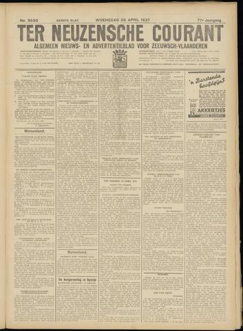 Ter Neuzensche Courant. Algemeen Nieuws- en Advertentieblad voor Zeeuwsch-Vlaanderen / Neuzensche Courant ... (idem) / (Algemeen) nieuws en advertentieblad voor Zeeuwsch-Vlaanderen 1937-04-28