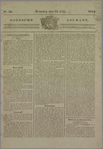 Goessche Courant 1844-07-22