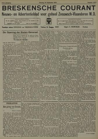 Breskensche Courant 1938-09-20