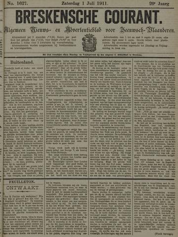 Breskensche Courant 1911-07-01
