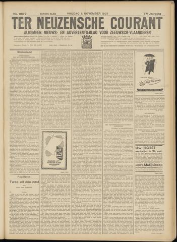Ter Neuzensche Courant. Algemeen Nieuws- en Advertentieblad voor Zeeuwsch-Vlaanderen / Neuzensche Courant ... (idem) / (Algemeen) nieuws en advertentieblad voor Zeeuwsch-Vlaanderen 1937-11-05