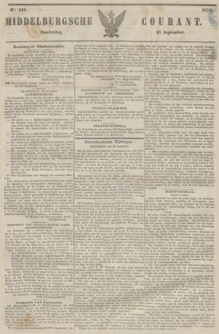 Middelburgsche Courant 1851-09-25