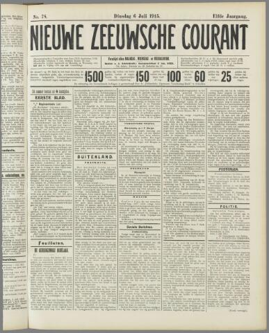 Nieuwe Zeeuwsche Courant 1915-07-06