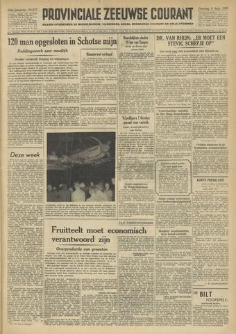 Provinciale Zeeuwse Courant 1950-09-09
