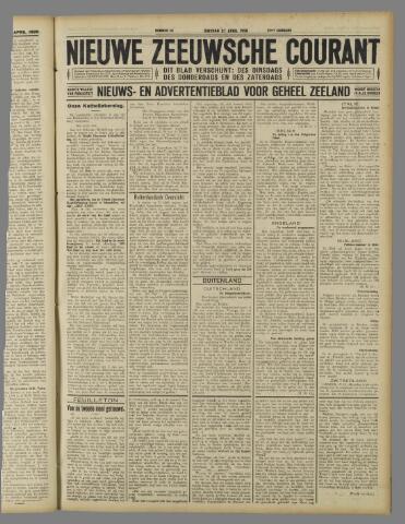 Nieuwe Zeeuwsche Courant 1926-04-27