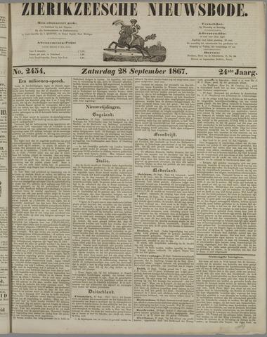 Zierikzeesche Nieuwsbode 1867-09-28