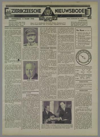 Zierikzeesche Nieuwsbode 1940-03-14