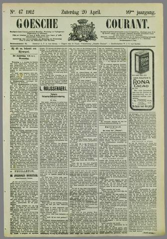 Goessche Courant 1912-04-20
