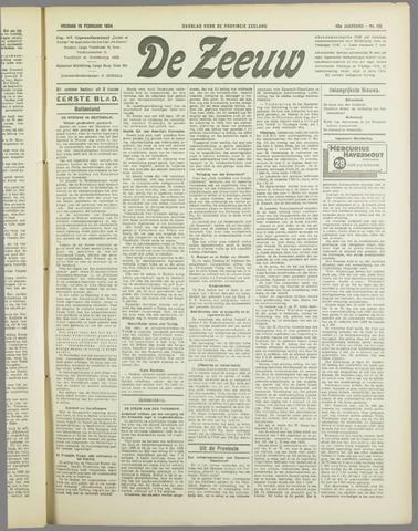 De Zeeuw. Christelijk-historisch nieuwsblad voor Zeeland 1934-02-16