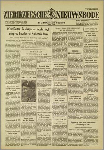 Zierikzeesche Nieuwsbode 1960-01-11