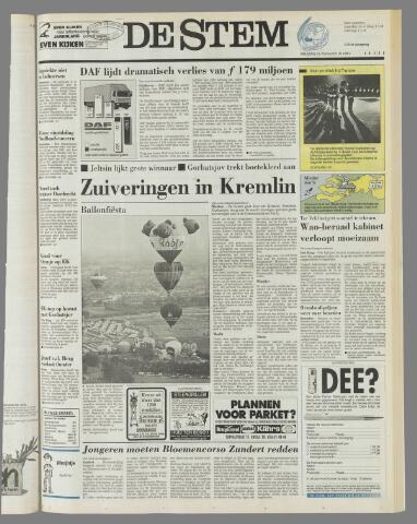 de Stem 1991-08-23