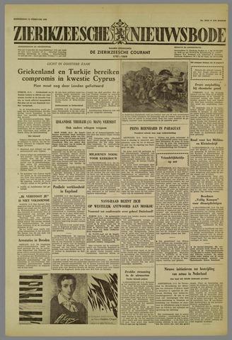 Zierikzeesche Nieuwsbode 1959-02-12