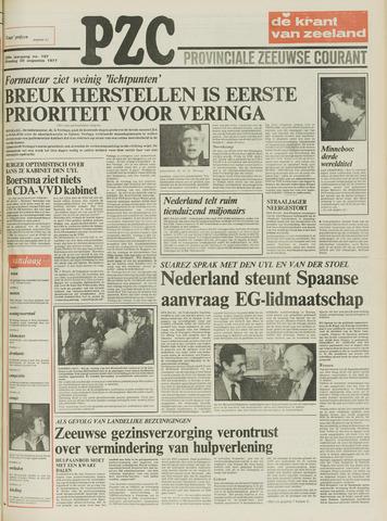 Provinciale Zeeuwse Courant 1977-08-30