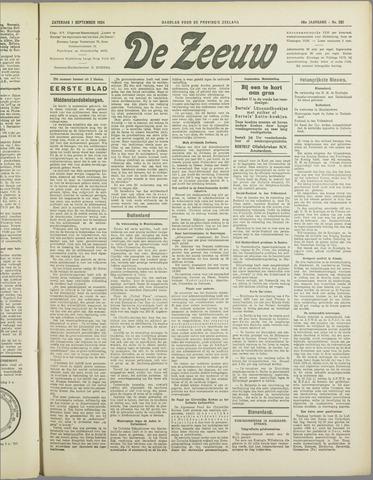 De Zeeuw. Christelijk-historisch nieuwsblad voor Zeeland 1934-09-01