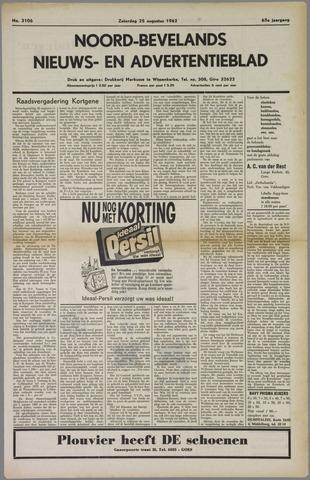 Noord-Bevelands Nieuws- en advertentieblad 1962-08-25