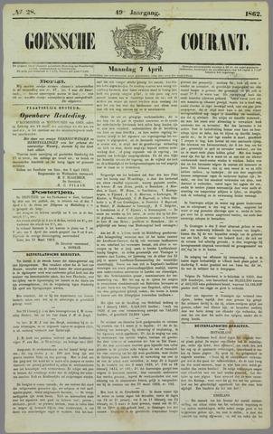 Goessche Courant 1862-04-07