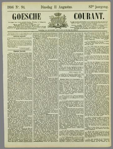 Goessche Courant 1896-08-11