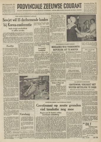 Provinciale Zeeuwse Courant 1953-08-26