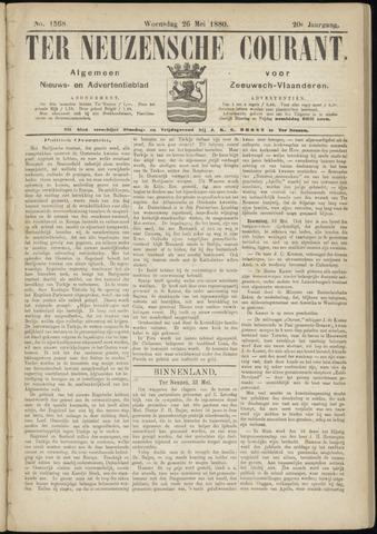 Ter Neuzensche Courant. Algemeen Nieuws- en Advertentieblad voor Zeeuwsch-Vlaanderen / Neuzensche Courant ... (idem) / (Algemeen) nieuws en advertentieblad voor Zeeuwsch-Vlaanderen 1880-05-26