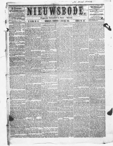 Sheboygan Nieuwsbode 1861