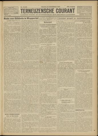 Ter Neuzensche Courant. Algemeen Nieuws- en Advertentieblad voor Zeeuwsch-Vlaanderen / Neuzensche Courant ... (idem) / (Algemeen) nieuws en advertentieblad voor Zeeuwsch-Vlaanderen 1942-11-20