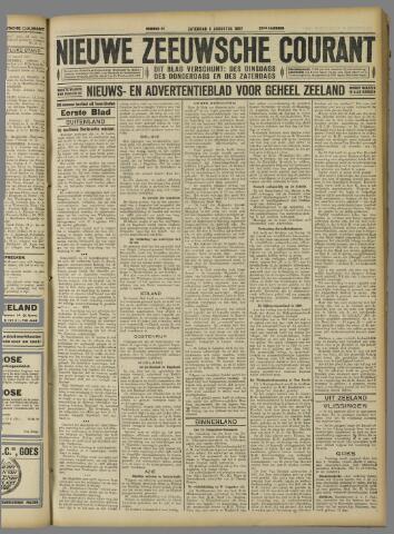 Nieuwe Zeeuwsche Courant 1927-08-06