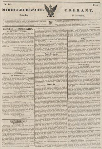 Middelburgsche Courant 1844-11-23