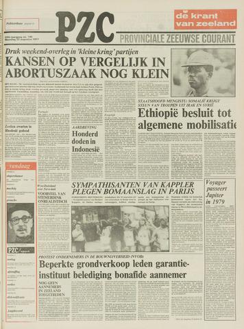 Provinciale Zeeuwse Courant 1977-08-22