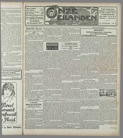 Onze Eilanden 1927-11-26