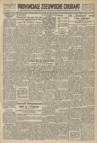 Provinciale Zeeuwse Courant 1946-07-17